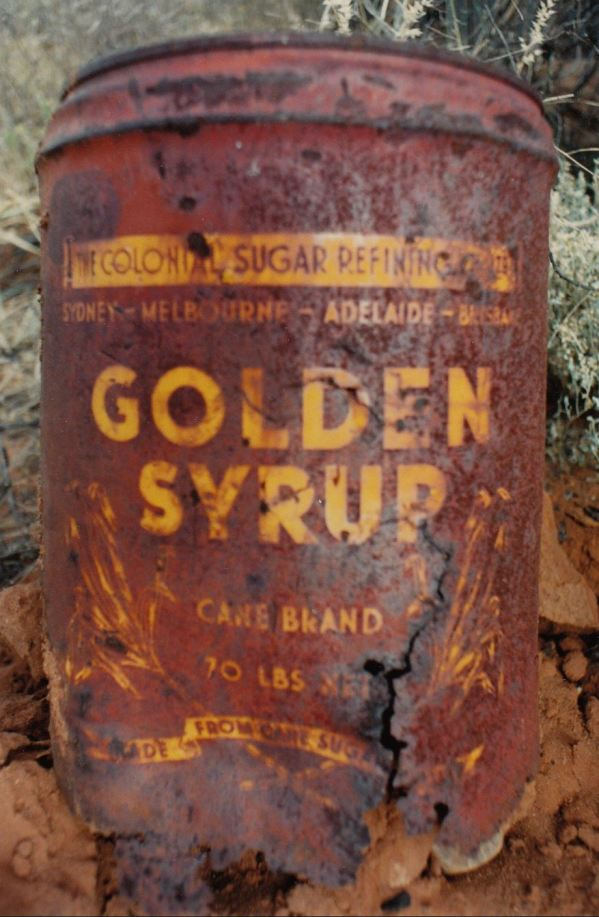 Golden Syrup drum