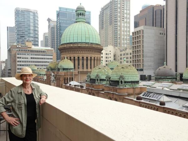 History at eye-level; the domes of the Queen Victoria Building.