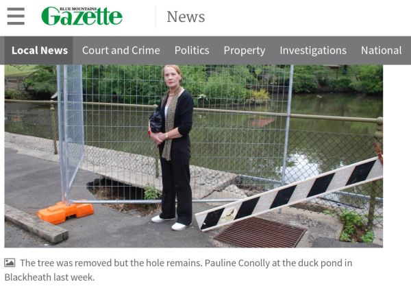 The Gazette solves a problem for me.