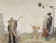 ORPEN'S 'SOWING NEW SEED' ....OF PROTEST!