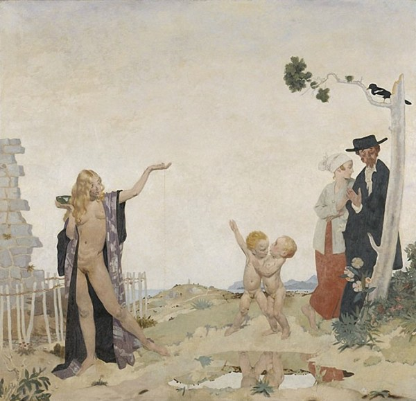 The painting Sowing New Seed by William Orpen.