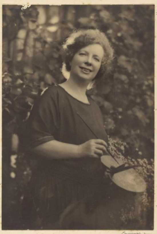 Margaret Preston,, who selected the Orpen painting  for Adelaide.