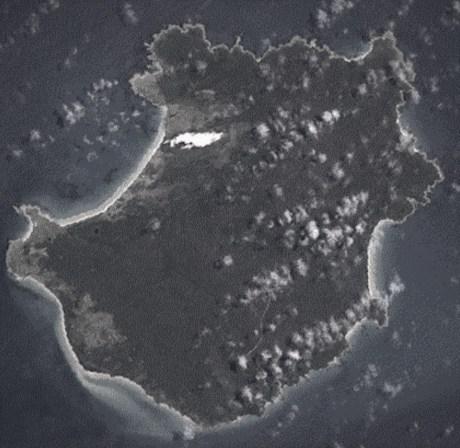 Three Hummock Island, scene of a mystery death in 1902