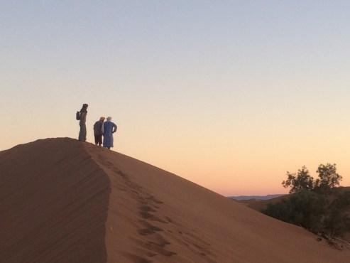 Sunset in the Sahara