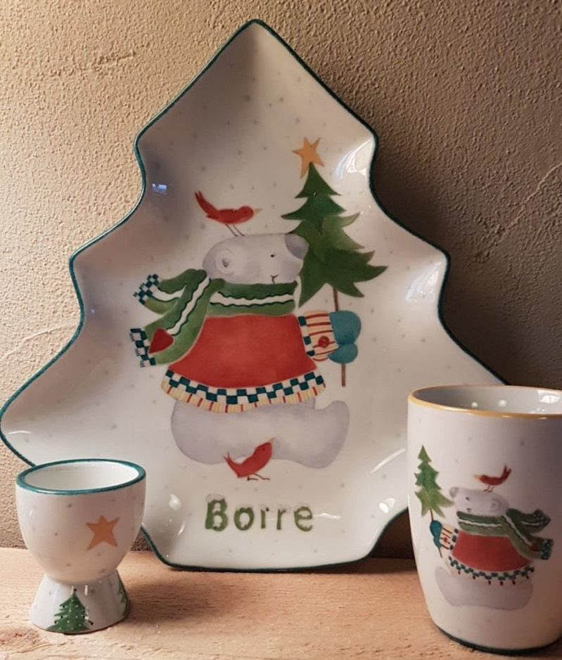 kerstservies