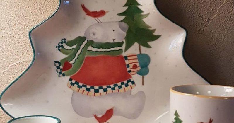 Kinderservies Kerst   Borre
