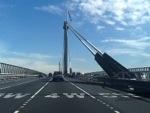 Crossing the Westgate Bridge