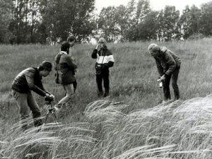 Fotoexkursion in den Kleinen Jahnbergen, 1987.
