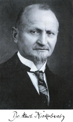 Abb. 2: Albert Kiekebusch - märkischer Frühgeschichtler und Ausgräber des Paulinenauer Hauses.
