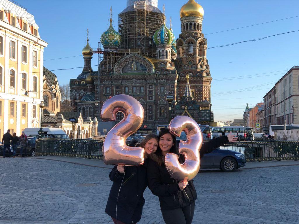 1 semaine en Russie