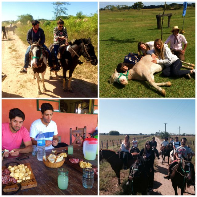 Gaucho is the ultimate Argentinean Experience - riding away on the pampas