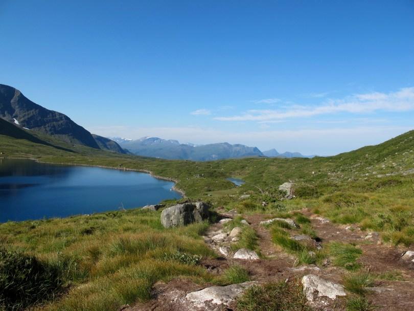 Hiking Lauparen in the Alps of Sunnmøre