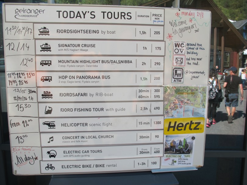 Road trip Geirangerfjord & Dalsnibba with today´s tours
