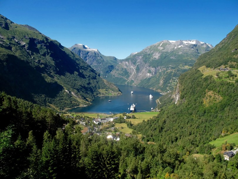 The Geirangerfjord & Dalsnibba in Pictures