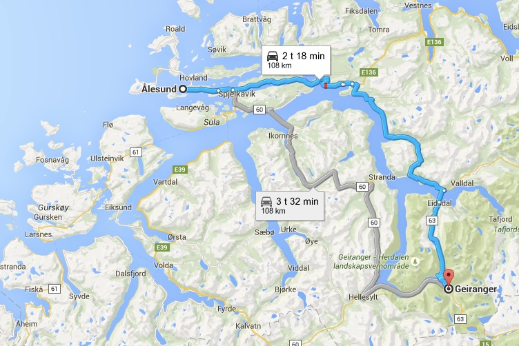 Roadtrip Geirangerfjord & Dalsnibba