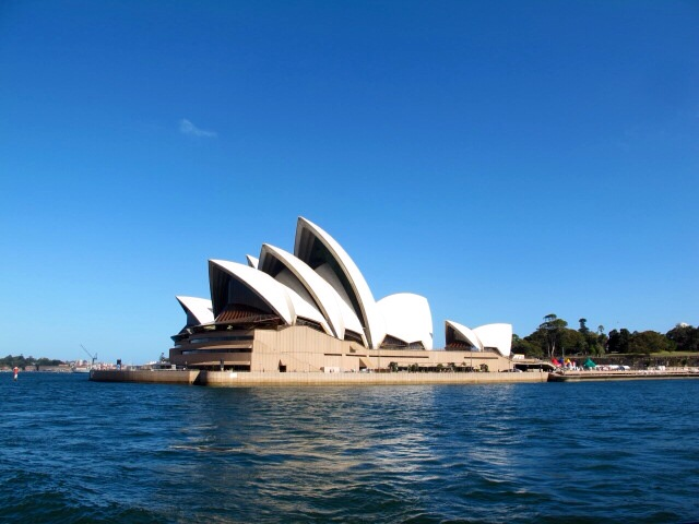One month in Australia must include the Opera House