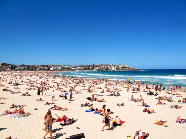 One month in Australia must include Bondi Beach - One month in Australia - A Samle Itinerary with Sydney, Byron Bay & Airlie Beach