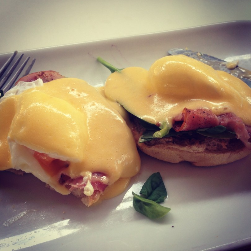 One month in Australia must include eggs benedict
