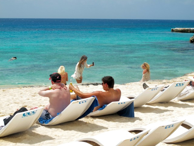 Great things to do in Cozumel is just sometimes enjoying the beach