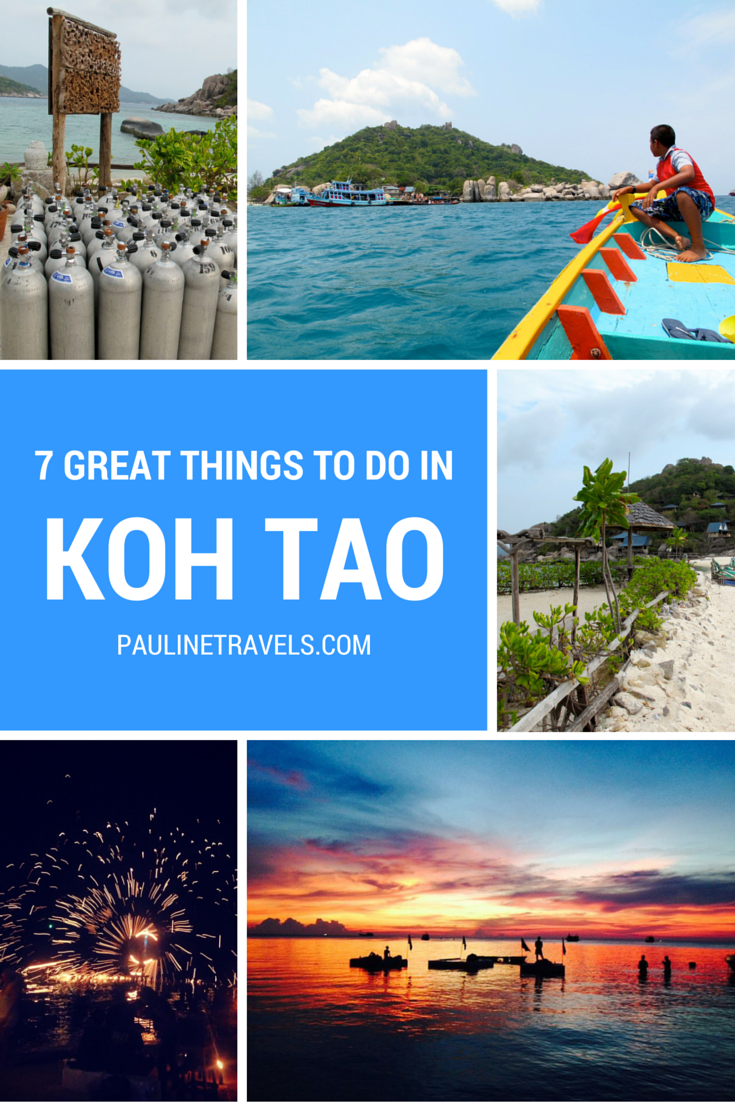 7 Great things to do in Koh Tao the Island Paradise in Thailand