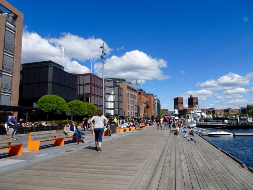 7 Great things to do in Oslo - Aker Brygge