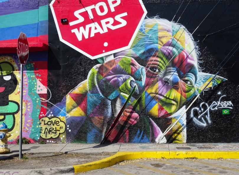 Wynwood Art Walls with Stop Wars inspired by Star Wars