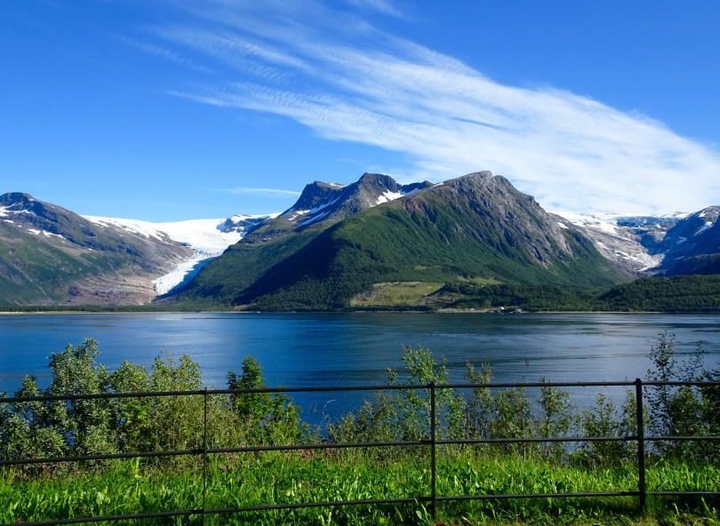 The Braset View Point of Svartisen - Norway's second grandest Glacier