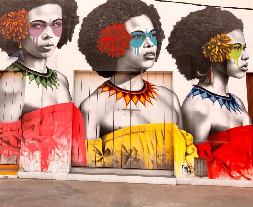 Artist Fin DAC. Las Tres Guerreras - In Getsemani, Cartagena de Indias, Colombia