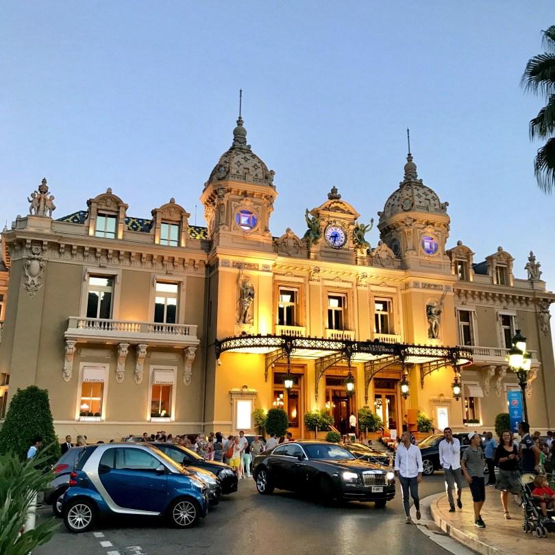 The famous casino Monte Carlo in Monaco.