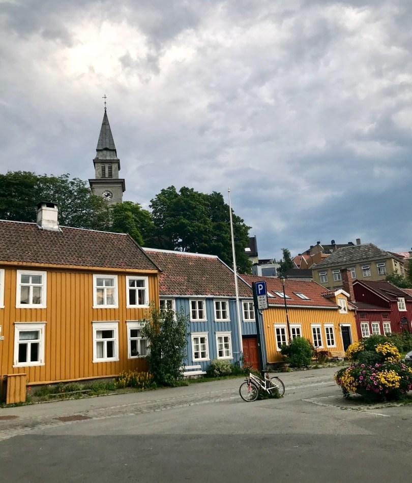 Bakklandet is a must visit when being in Trondheim