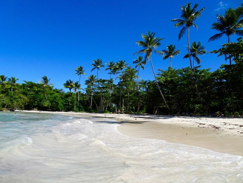 Playita Beach in Las Galeras. The Dominican Republic 2019