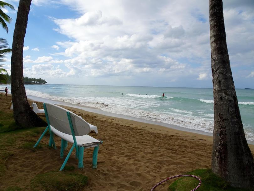 Playa Bonita in Las Terrenas. The Dominican Republic 2019