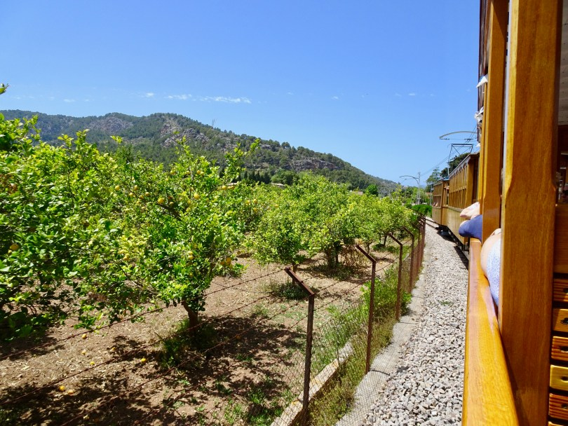 Train ride to Sóller