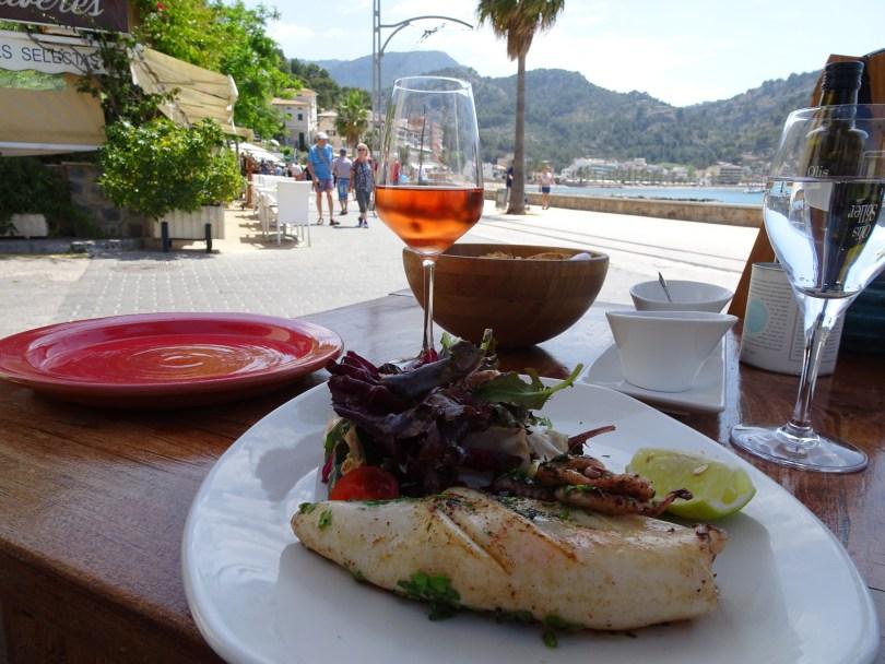Sabarca Restaurant in Porto Sóller. Mallorca Island in Spain