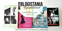 Blogistania Book Awards ad for social media
