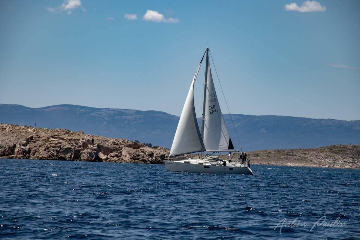 Oklica i otok Krk