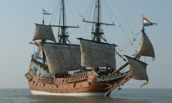 kapal pertama dari belanda