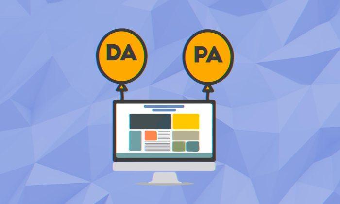 Page Authority Blog Menurun