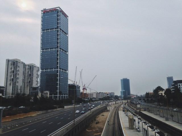 Tel Aviv highway