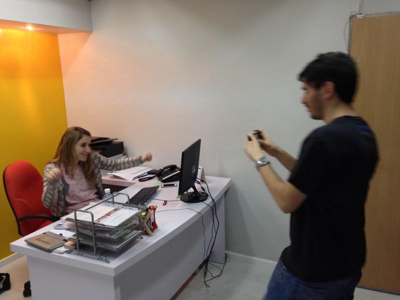 Avishai and Shiri at imonomy