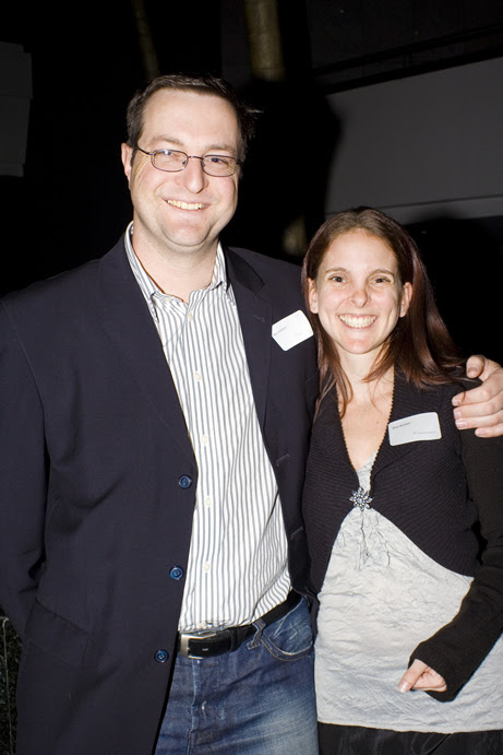 Me and Gina at a Jewish Entrepreneurs event in 2009
