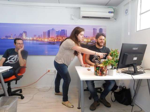 Here is a little peek of the marketing department with me, Sinead and Tom.