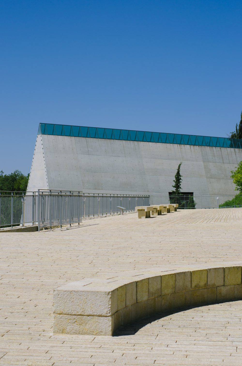 Another perspective of the main museum
