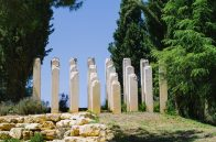 Striking memorial at Yad Vashem
