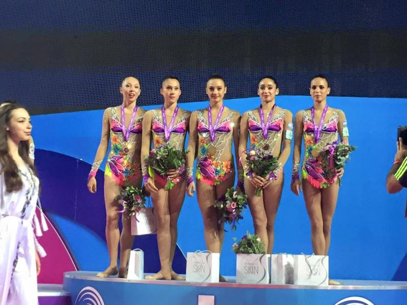 Israeli Rhythmic Gymnastics squad