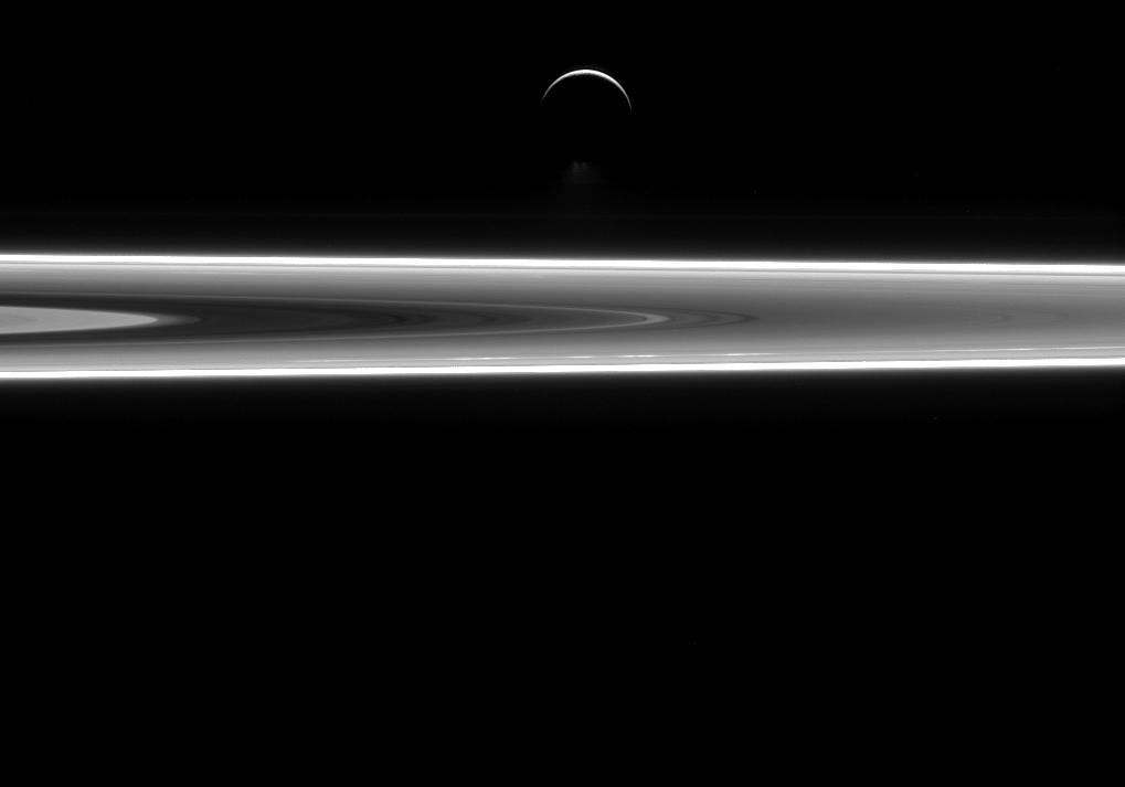 Saturn's moon Enceladus may contain extraterrestrial life