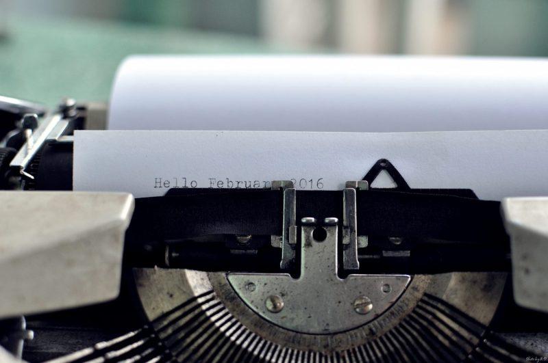 Nostalgia about writing on paper