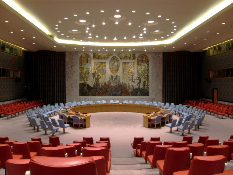 United Nations Security Council chamber