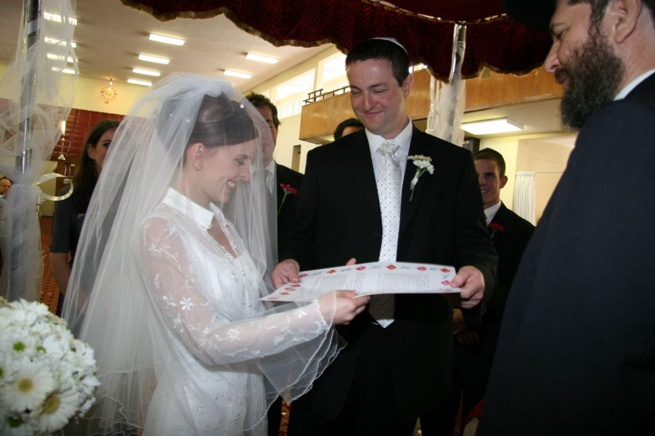 On our wedding anniversary
