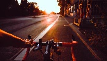 Bicycle handlebars and a long road ahead